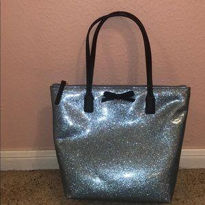 Kate Spade blue glitter purse!